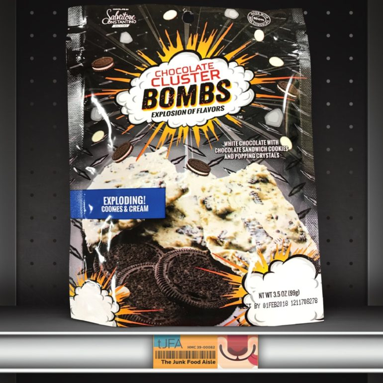 Chocolate Cluster Bombs: Exploding Cookies & Cream