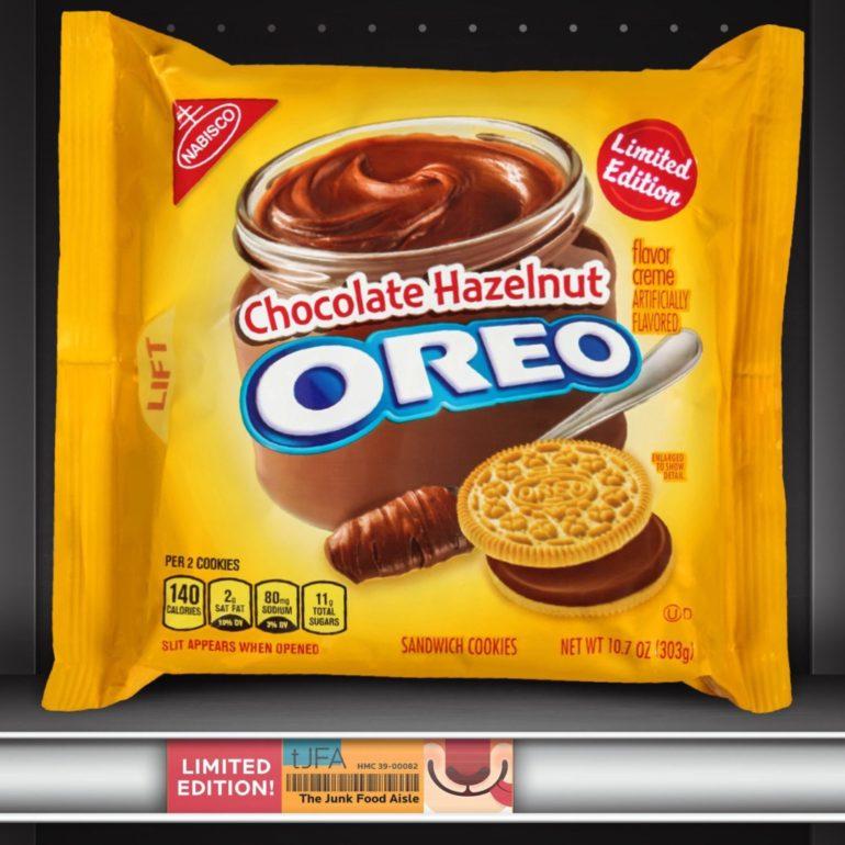 Chocolate Hazelnut Oreo