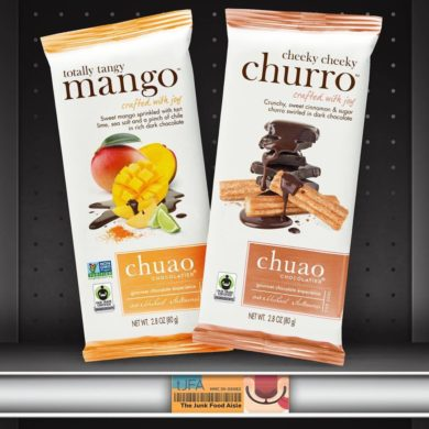 Chuao Totally Tangy Mango & Cheeky Cheeky Churro Dark Chocolate Bars