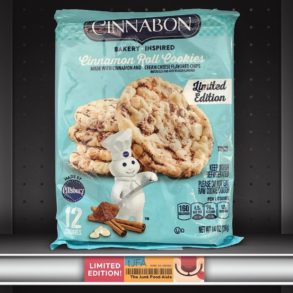 Cinnabon Cinnamon Roll Cookies by Pillsbury