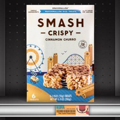 Cinnamon Churro SmashCrispy