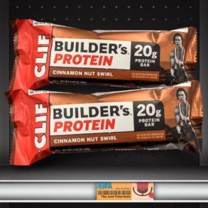 Cinnamon Nut Swirl Clif Builders Protein Bar