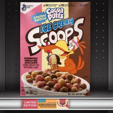 Cocoa Puffs Ice Cream Scoops