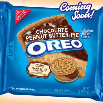 Coming Soon: Chocolate Peanut Butter Pie Oreo