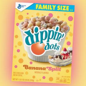 Coming Soon: Dippin' Dots Banana Split Cereal
