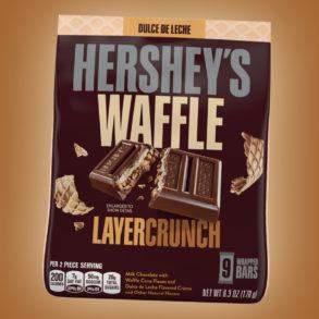 Coming Soon: Hershey's Waffle Layer Crunch Dulce de Leche