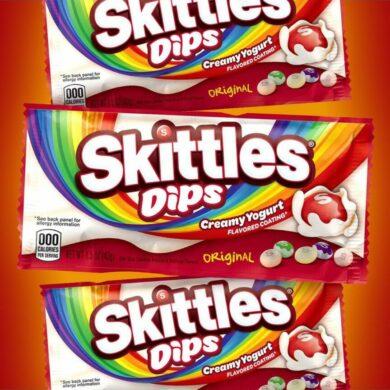 Coming Soon! Skittles Dips