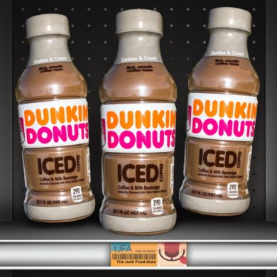 Cookies & Cream Dunkin Donuts Iced Coffee
