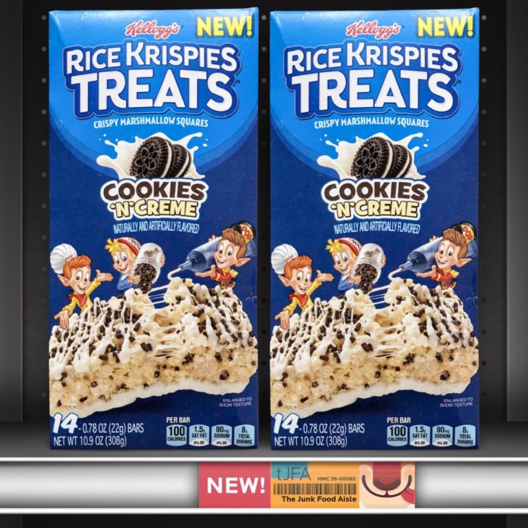 Cookies 'N' Creme Rice Krispies Treats