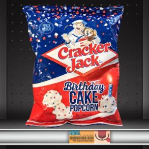 Cracker Jack Birthday Cake Popcorn