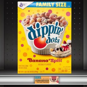 Dippin' Dots Banana Split Cereal
