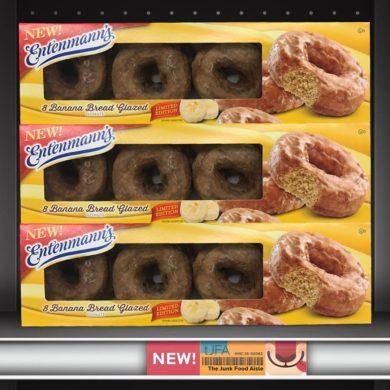 Entenmann's Banana Bread Glazed Donuts