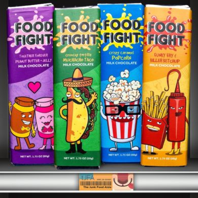Food Fight Milk Chocolate Bars