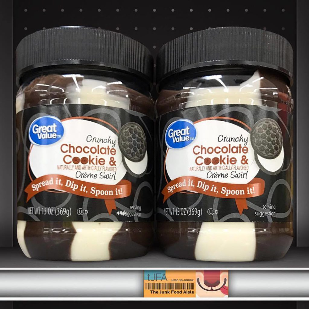Great Value Crunchy Chocolate Cookie & Crème Swirl