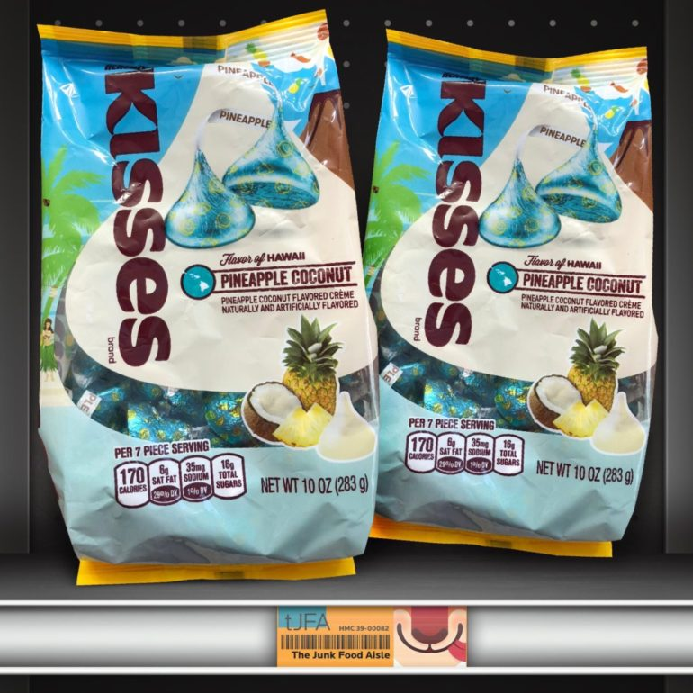 Hershey's Kisses Flavor of Hawaii Pineapple Coconut