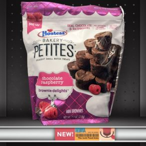 Hostess Bakery Petites: Chocolate Raspberry Brownie Delights