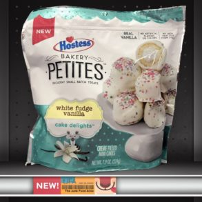 Hostess Bakery Petites: White Fudge Vanilla Cake Delights