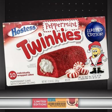 Hostess Peppermint Twinkies