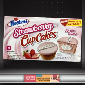 Hostess Strawberry CupCakes
