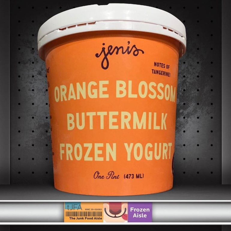 Jeni's Orange Blossom Buttermilk Frozen Yogurt
