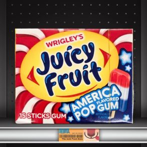 Juicy Fruit America Pop Flavored Gum