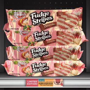 Keebler Strawberry Cheesecake Fudge Stripes Cookies