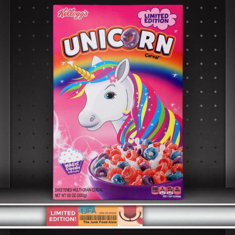 Kellogg's Unicorn Cereal