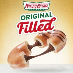 Krispy Kreme Filled Ring Doughnuts are coming to the US