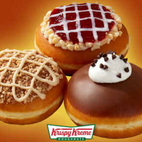 Krispy Kreme Introduces Three Thanksgiving Pie Inspired Doughnuts!