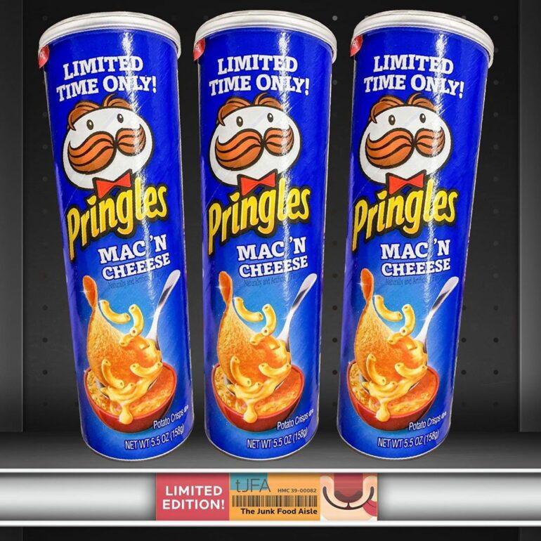 Limited Edition Mac 'N Cheese Pringles