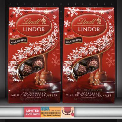Lindt Lindor Gingerbread Truffles