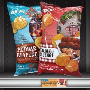Meijer Italian Sausage and Cheddar Jalapeño Potato Chips