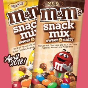 M&M's Sweet & Salty Snack Mixes