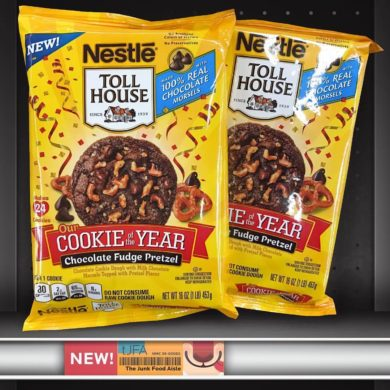 Nestle Toll House Cookie of the Year 2017 Chocolate Fudge Pretzel