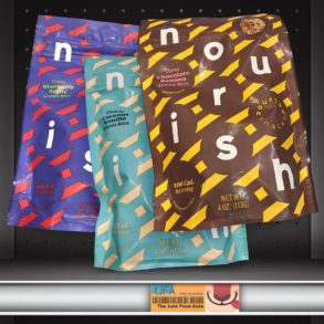 Nourish Snacks Chocolate Banana, Coconut Vanilla, and Blueberry Apple Granola Bites