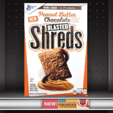 Peanut Butter Chocolate Blasted Shreds