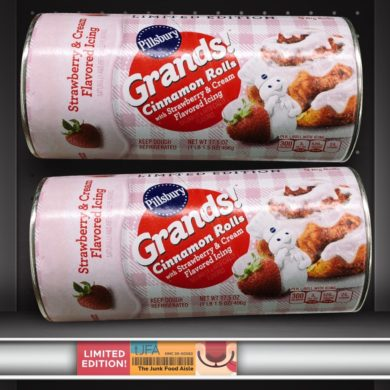 Pillsbury Grands! Cinnamon Rolls with Strawberry & Cream Icing