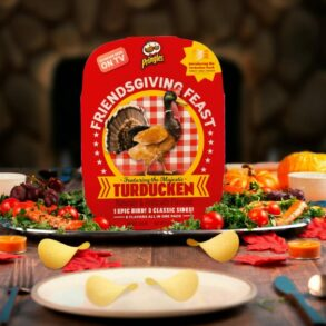 Pringles Friendsgiving Feast Featuring Turducken Releasing This Thursday Online