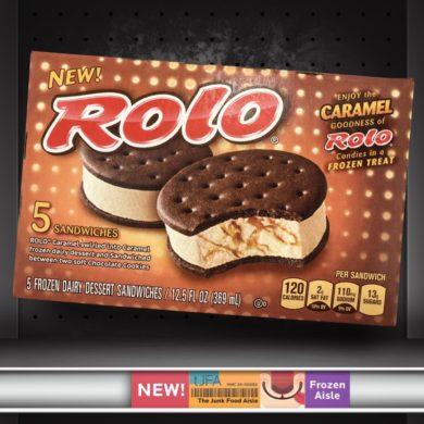 Rolo Frozen Dessert Sandwiches