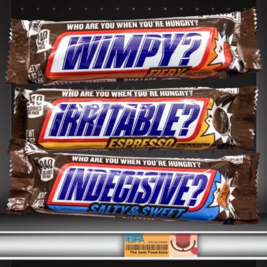 Snickers Fiery, Espresso, and Salty & Sweet