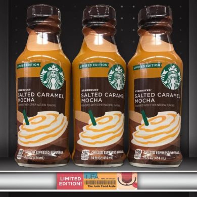 Starbucks Salted Caramel Mocha Chilled Espresso Beverage