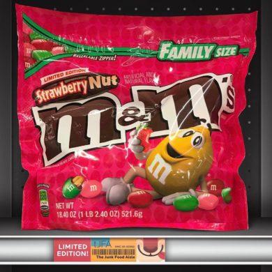 Strawberry Nut M&M's