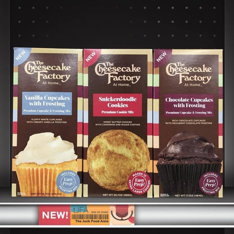 The Cheesecake Factory At Home Cookie and Cupcake Mixes