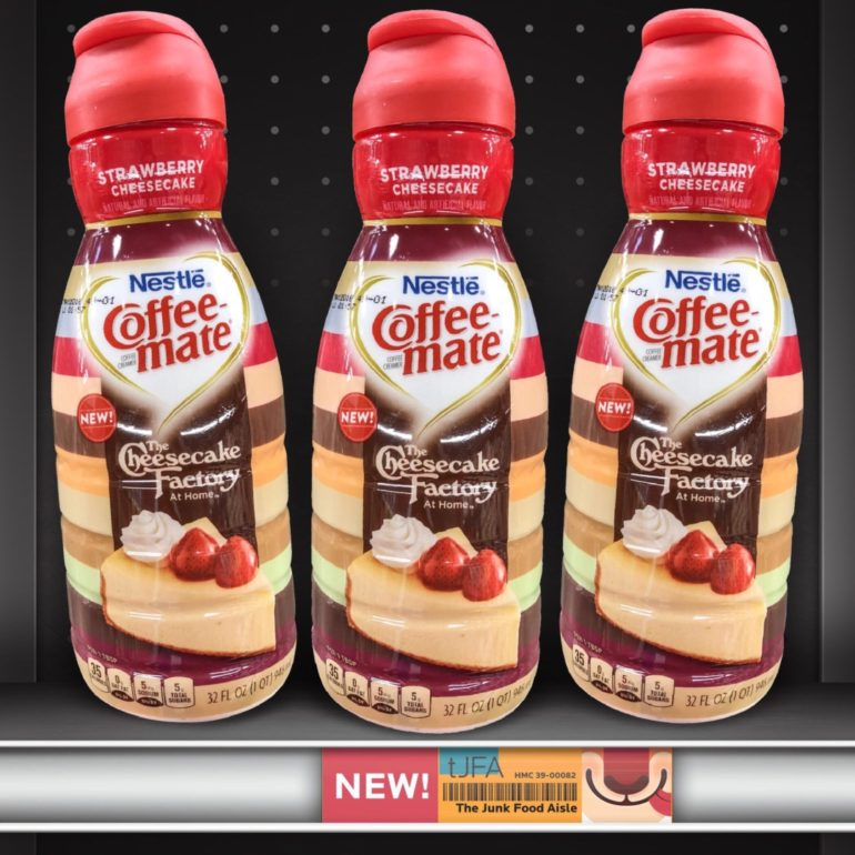 The Cheesecake Factory Strawberry Cheesecake Coffee-mate