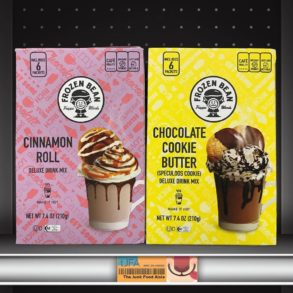 The Frozen Bean Cinnamon Roll & Chocolate Cookie Butter Hot Cocoa Mixes