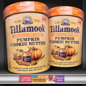 Tillamook Pumpkin Cookie Butter Ice Cream