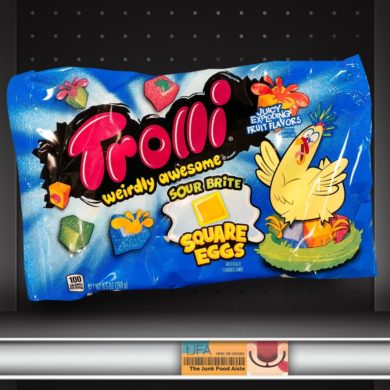 Trolli Weirdly Awesome Sour Brite Square Eggs