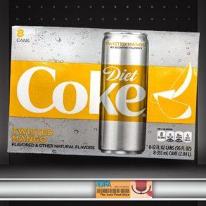Twisted Mango Diet Coke