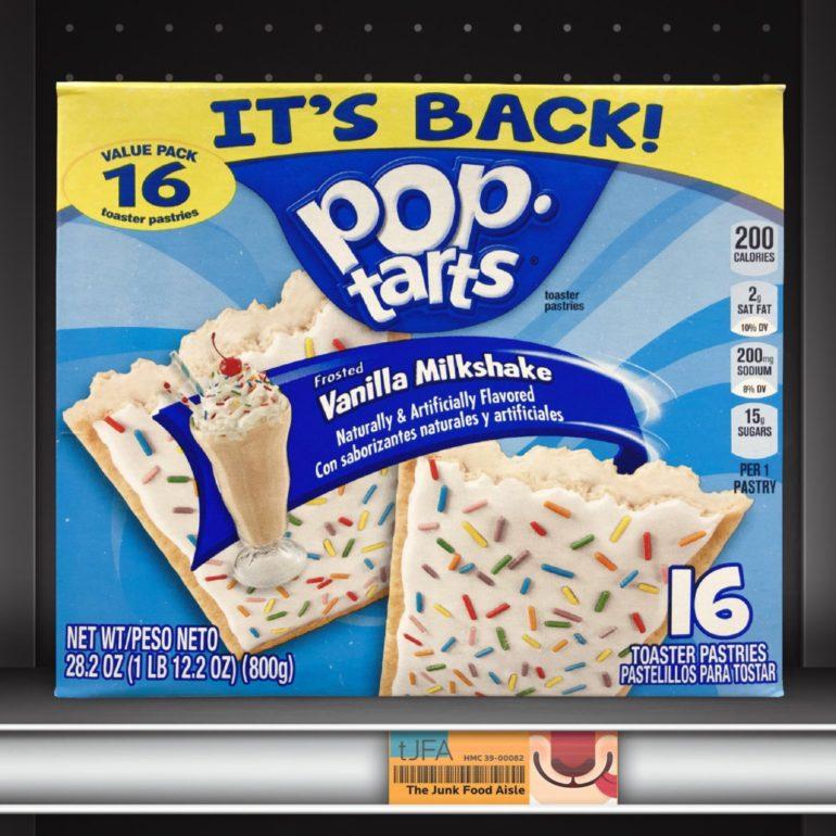 Vanilla Milkshake Pop-Tarts