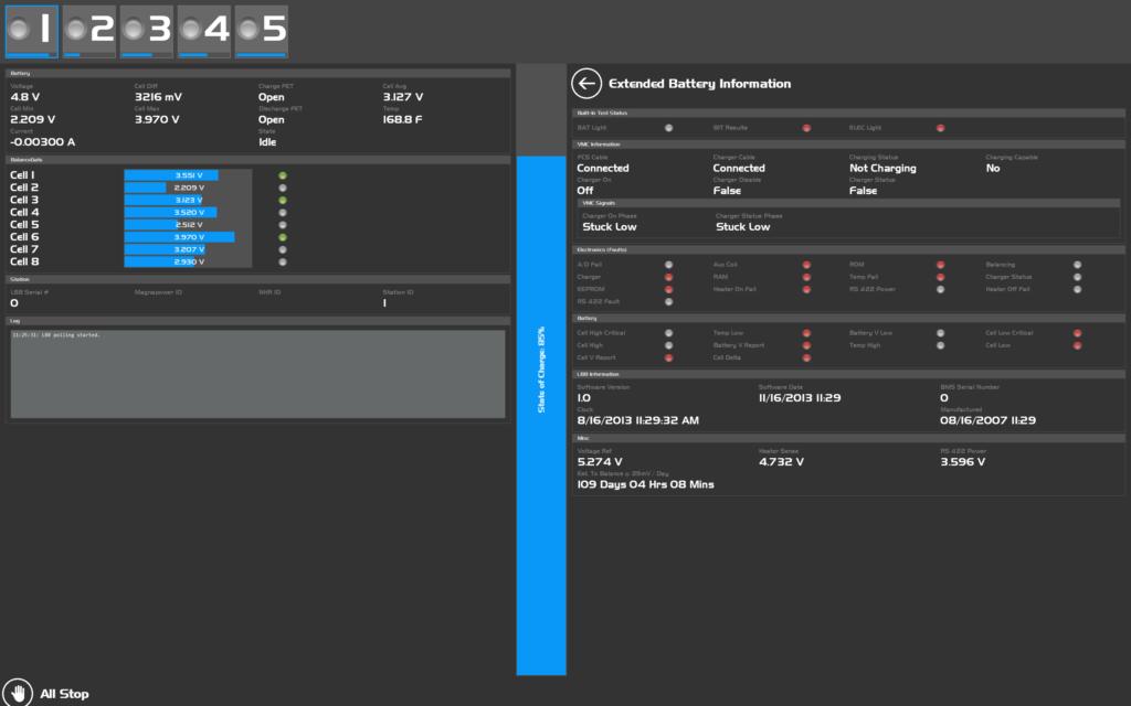 SILAS software screenshot